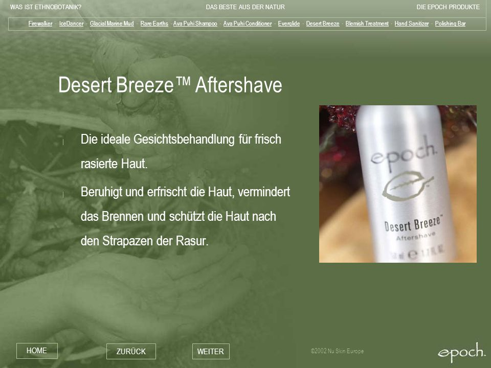 Desert Breeze™ Aftershave