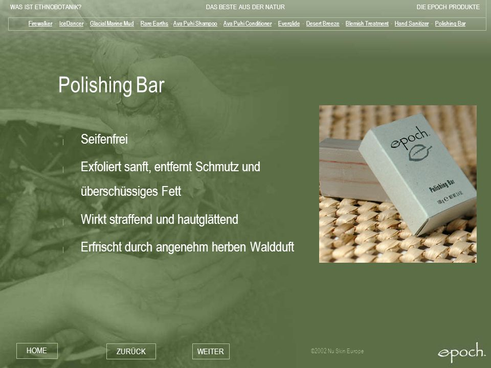 Polishing Bar Seifenfrei