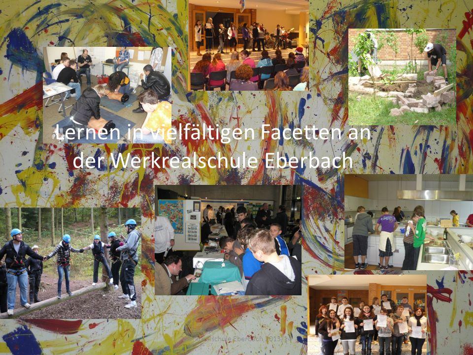Lernen in vielfältigen Facetten an der Werkrealschule Eberbach