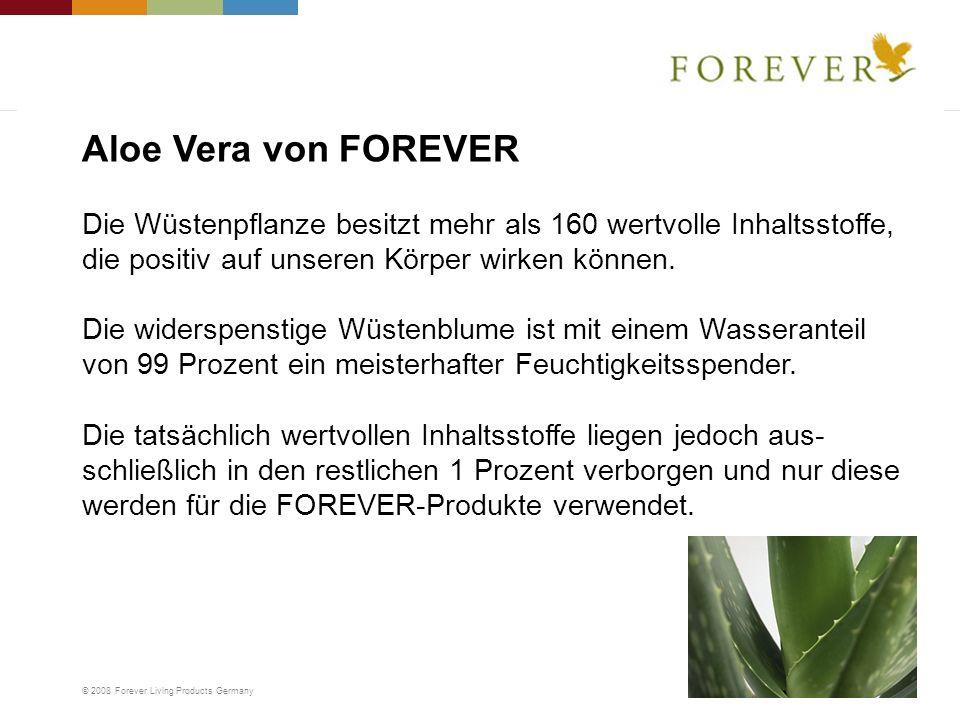 Aloe Vera von FOREVER Die Wüstenpflanze besitzt mehr als 160 wertvolle Inhaltsstoffe, die positiv auf unseren Körper wirken können.