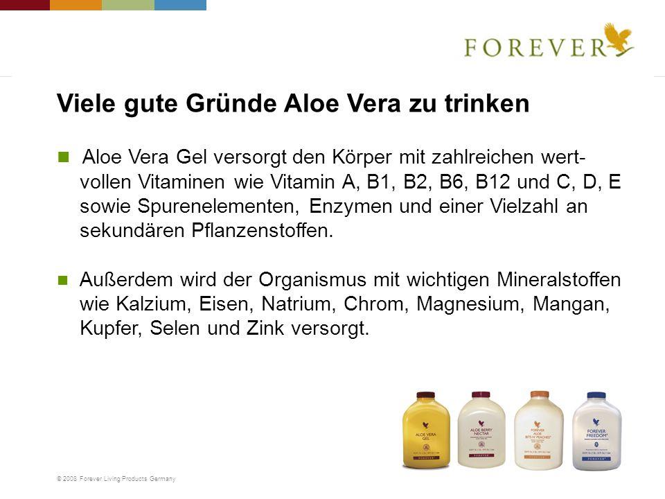 Viele gute Gründe Aloe Vera zu trinken