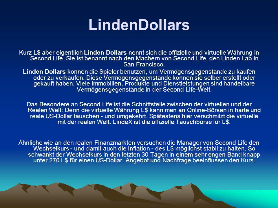 LindenDollars