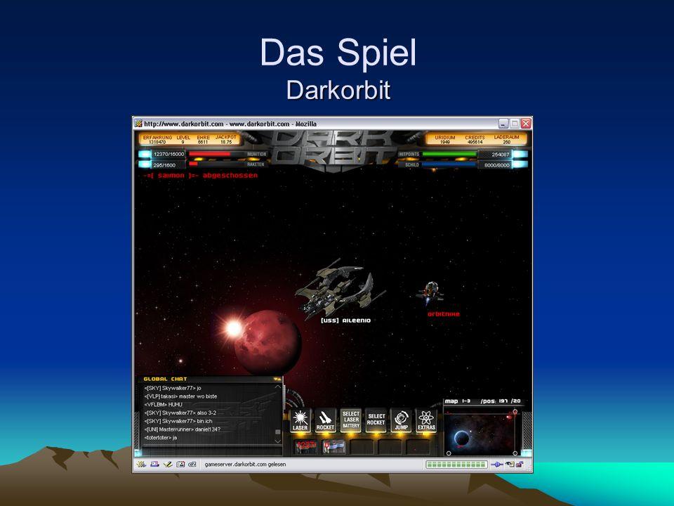 Das Spiel Darkorbit