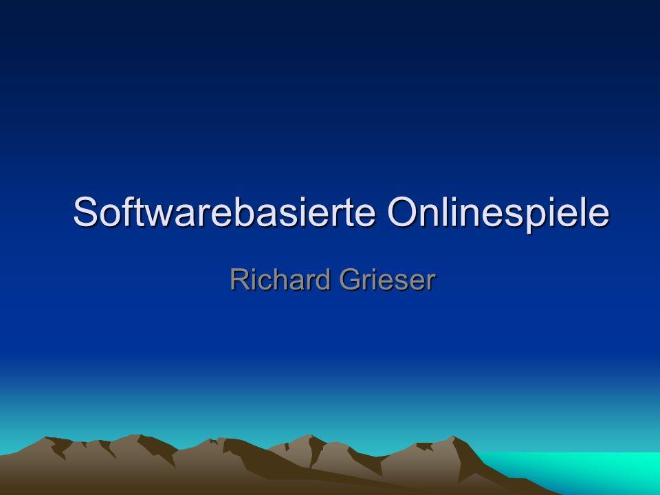 Softwarebasierte Onlinespiele