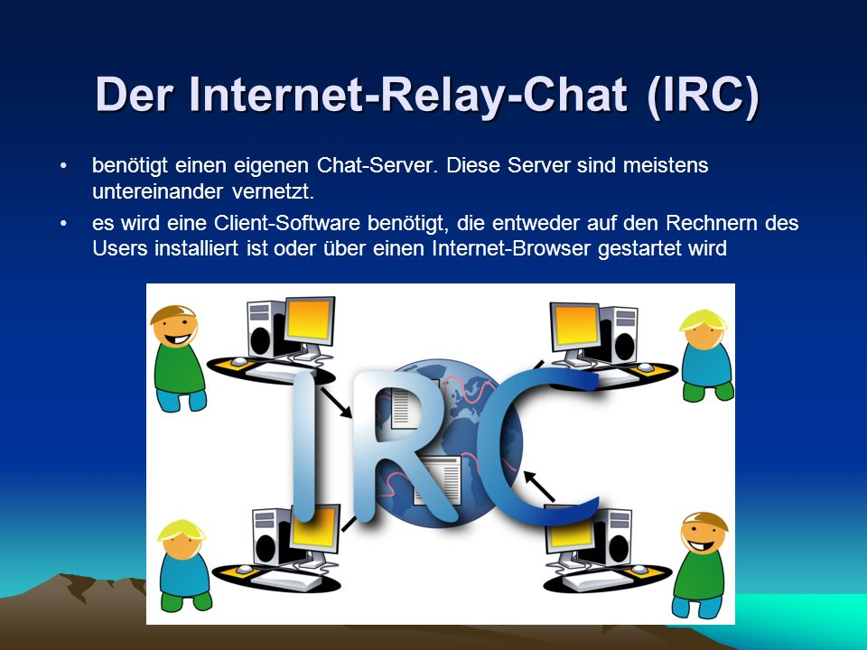 Der Internet-Relay-Chat (IRC)