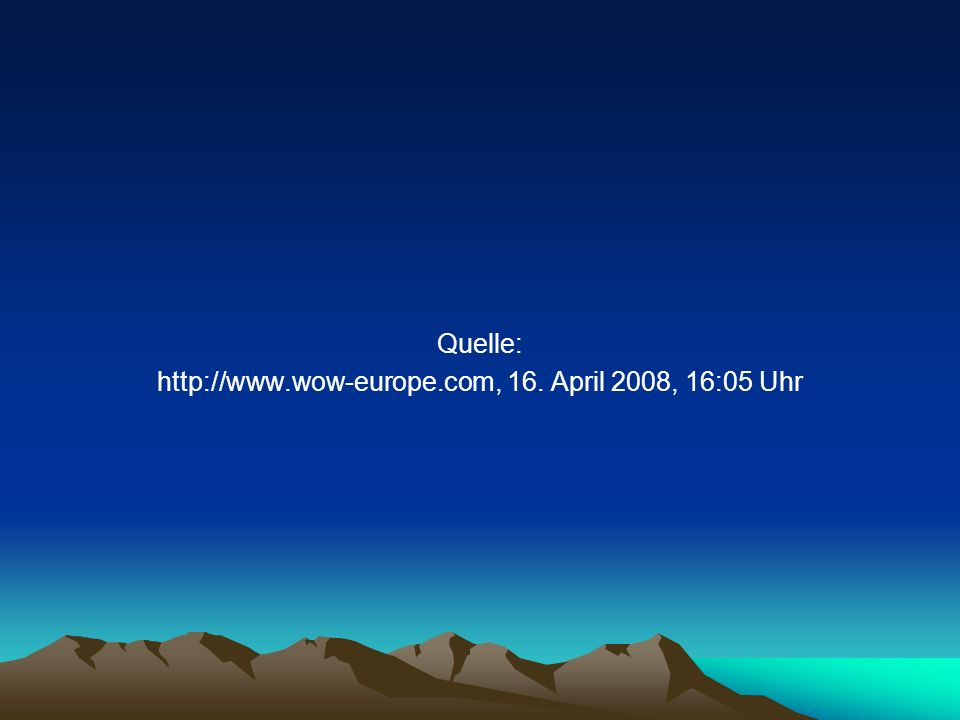 http://www.wow-europe.com, 16. April 2008, 16:05 Uhr