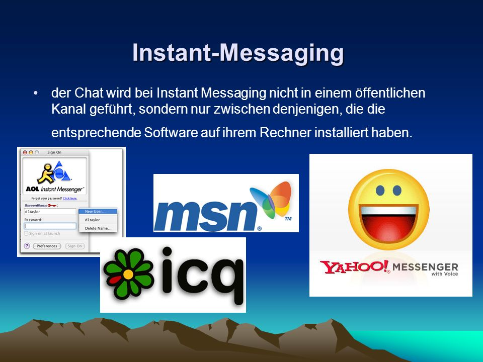Instant-Messaging