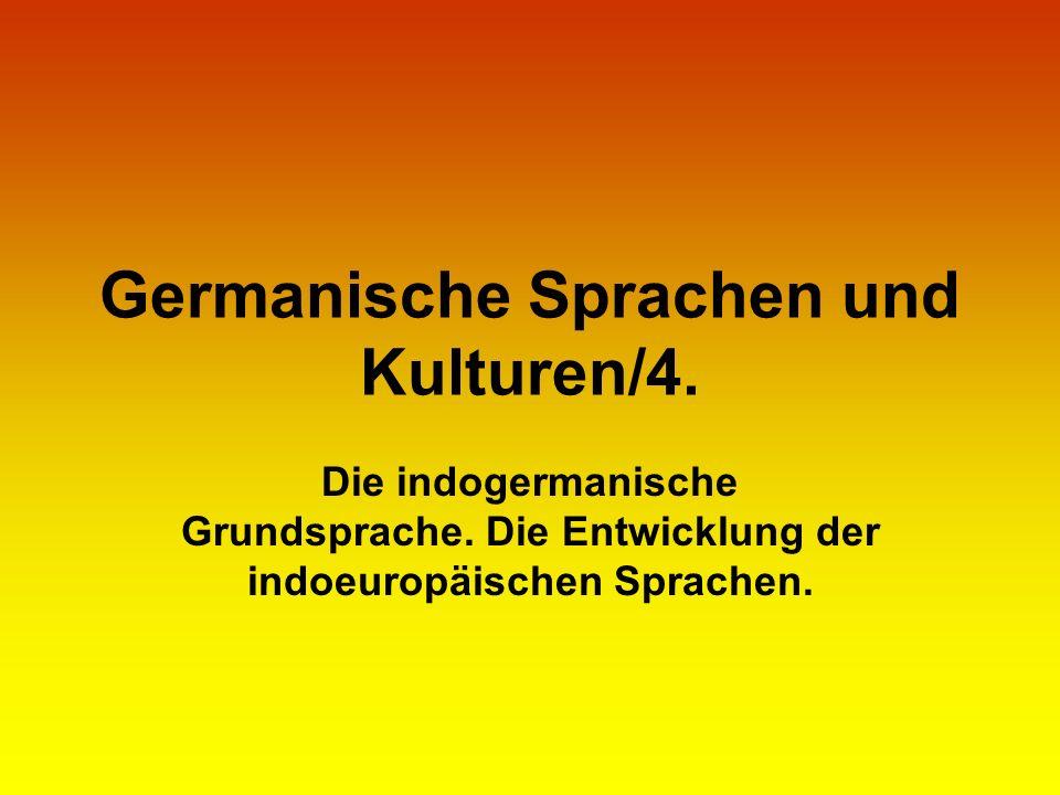 Germanische Sprachen und Kulturen/4.