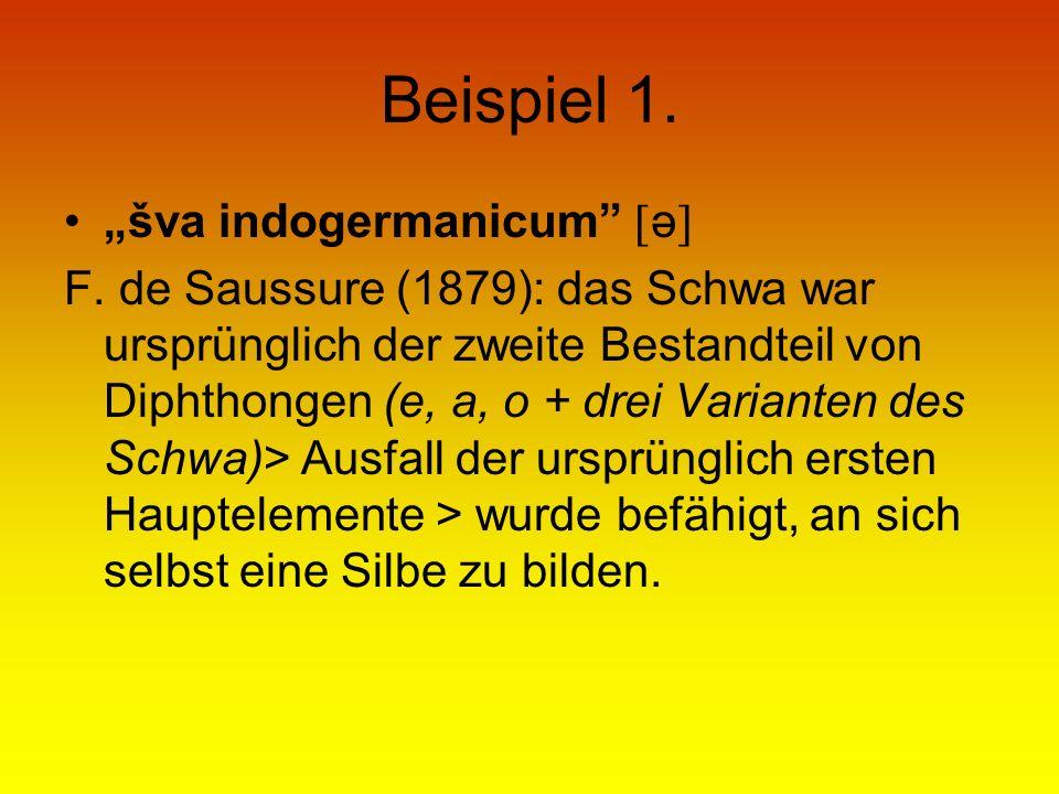 """Beispiel 1. """"šva indogermanicum ə"""