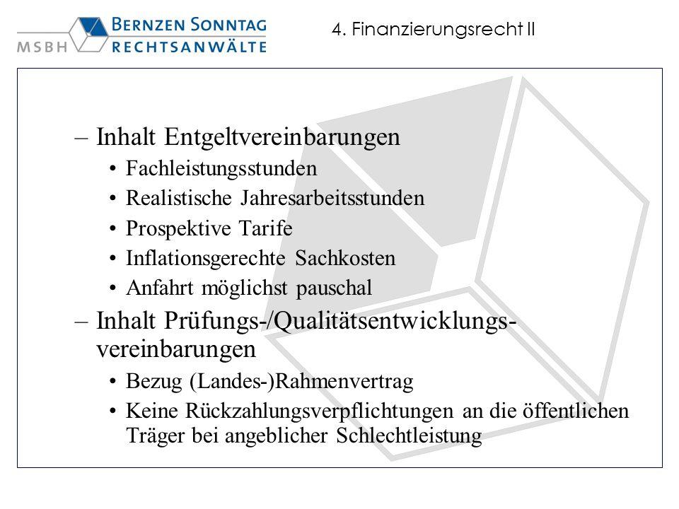 4. Finanzierungsrecht II
