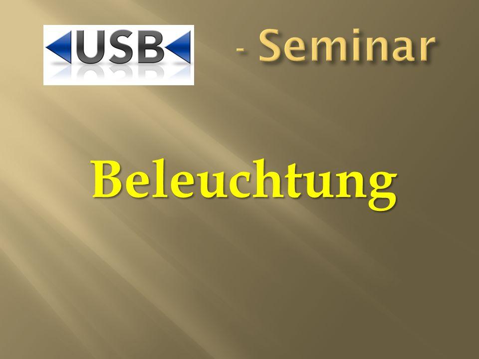 - Seminar Beleuchtung