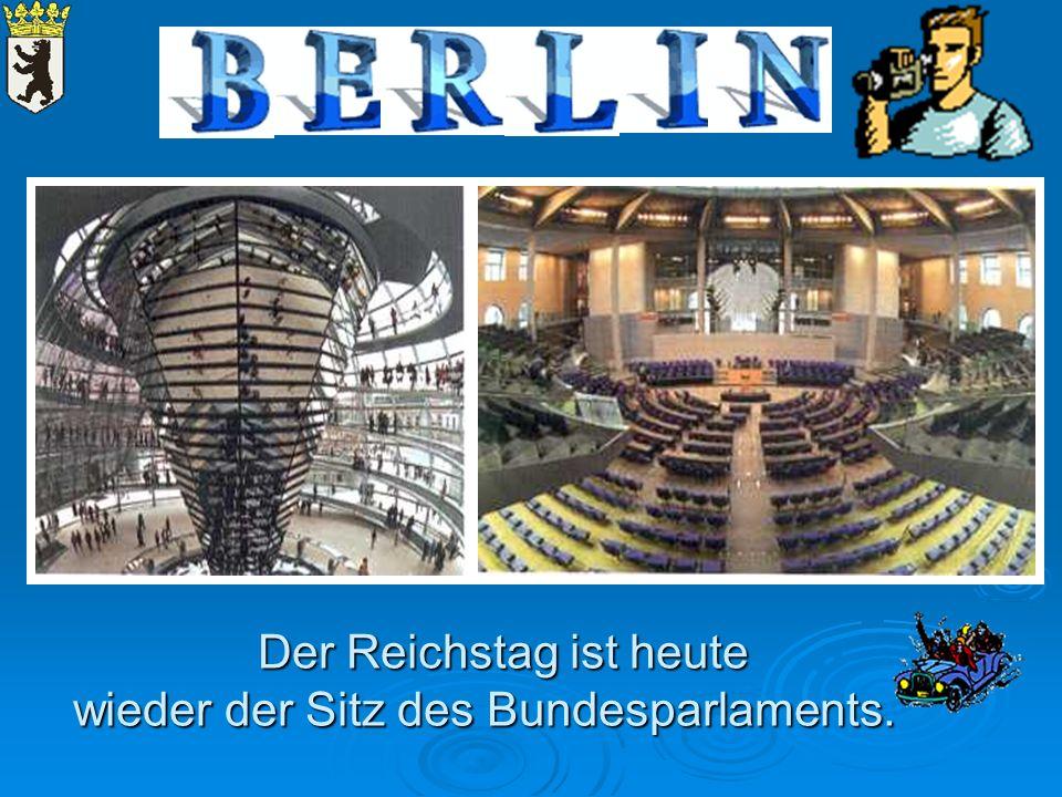 Der Reichstag ist heute