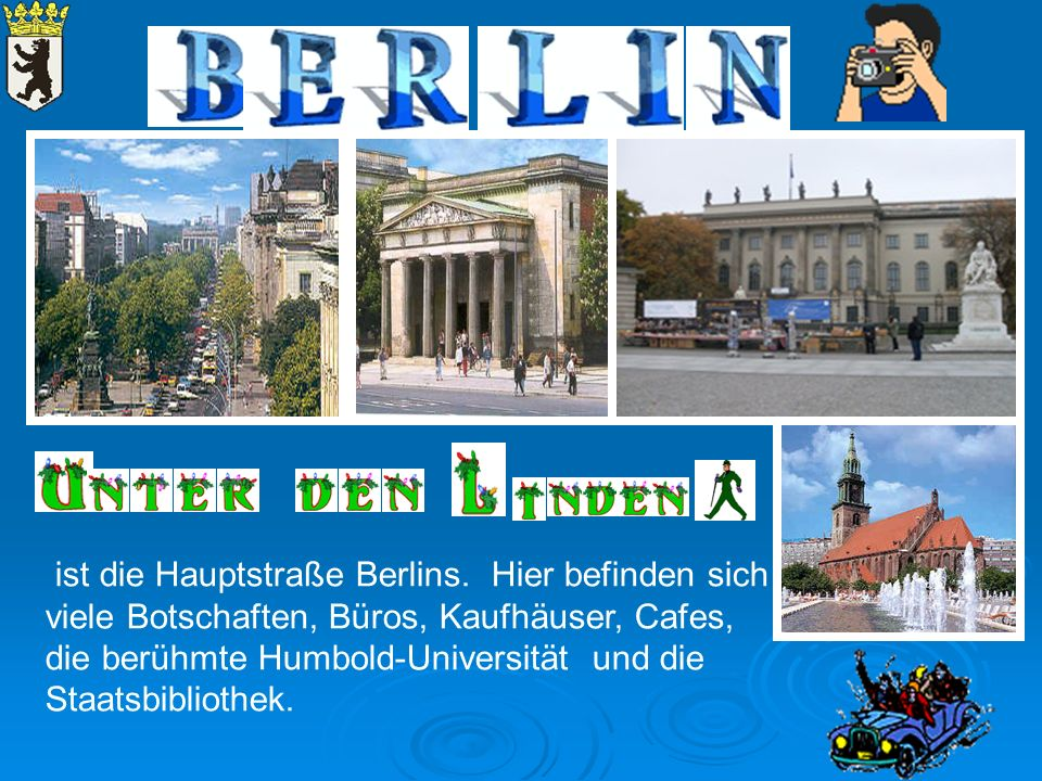 ist die Hauptstraße Berlins