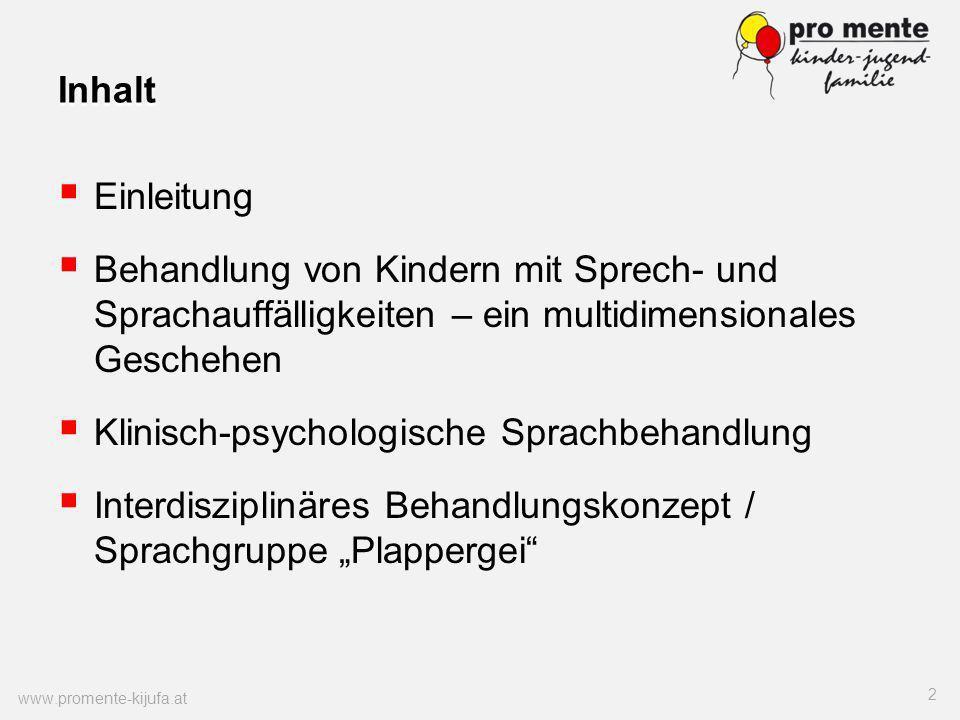 Klinisch-psychologische Sprachbehandlung