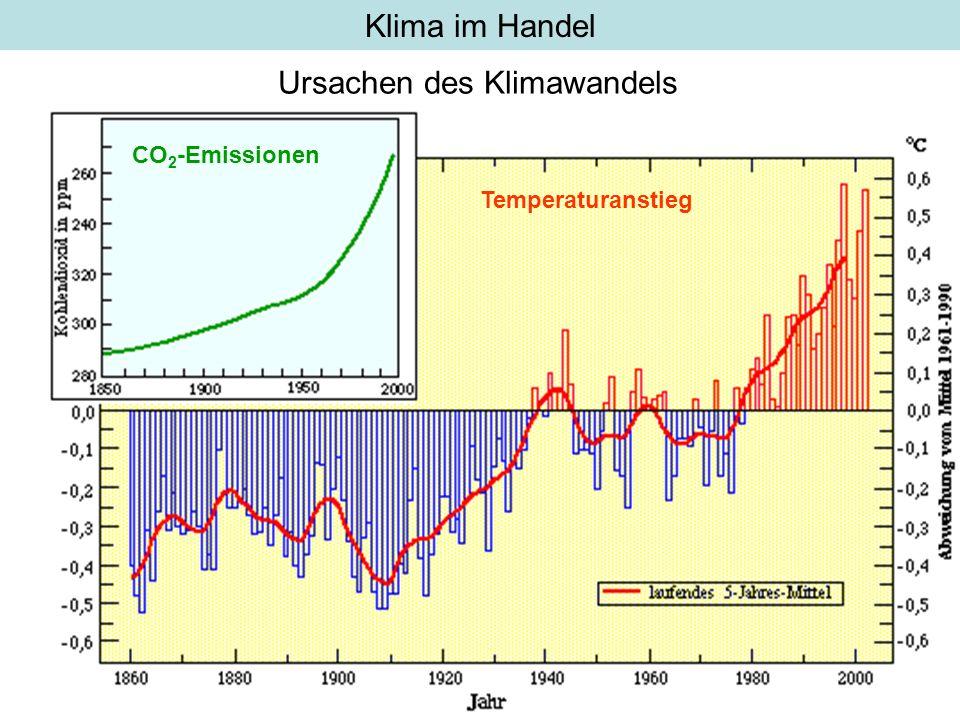 Ursachen des Klimawandels