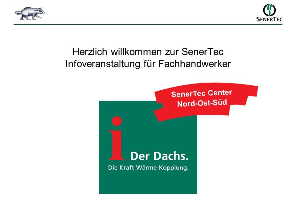 Herzlich willkommen zur SenerTec Infoveranstaltung für Fachhandwerker