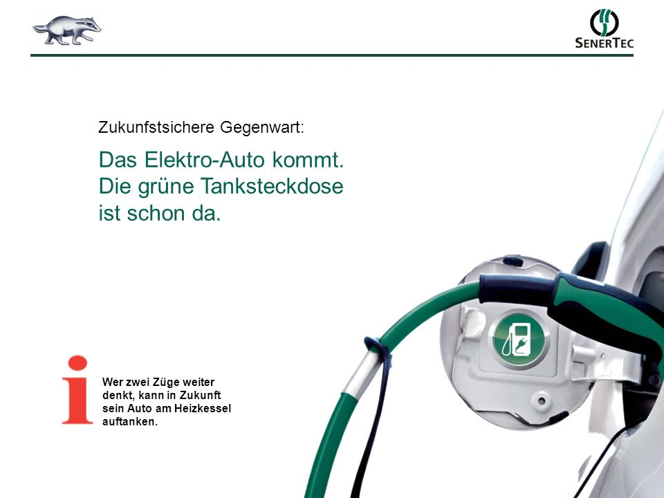 Zukunfstsichere Gegenwart: Das Elektro-Auto kommt