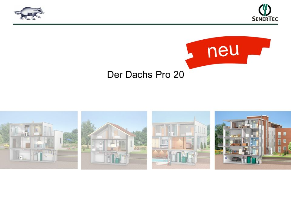 neu Der Dachs Pro 20