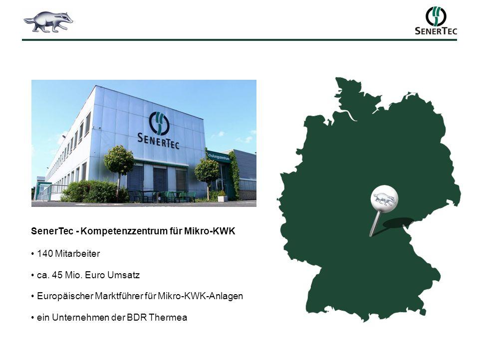 SenerTec - Kompetenzzentrum für Mikro-KWK