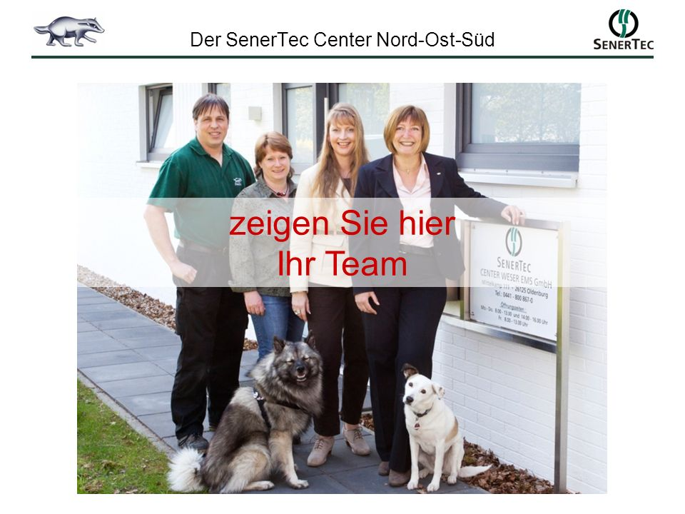 Der SenerTec Center Nord-Ost-Süd