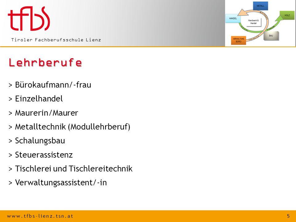 Lehrberufe > Bürokaufmann/-frau > Einzelhandel