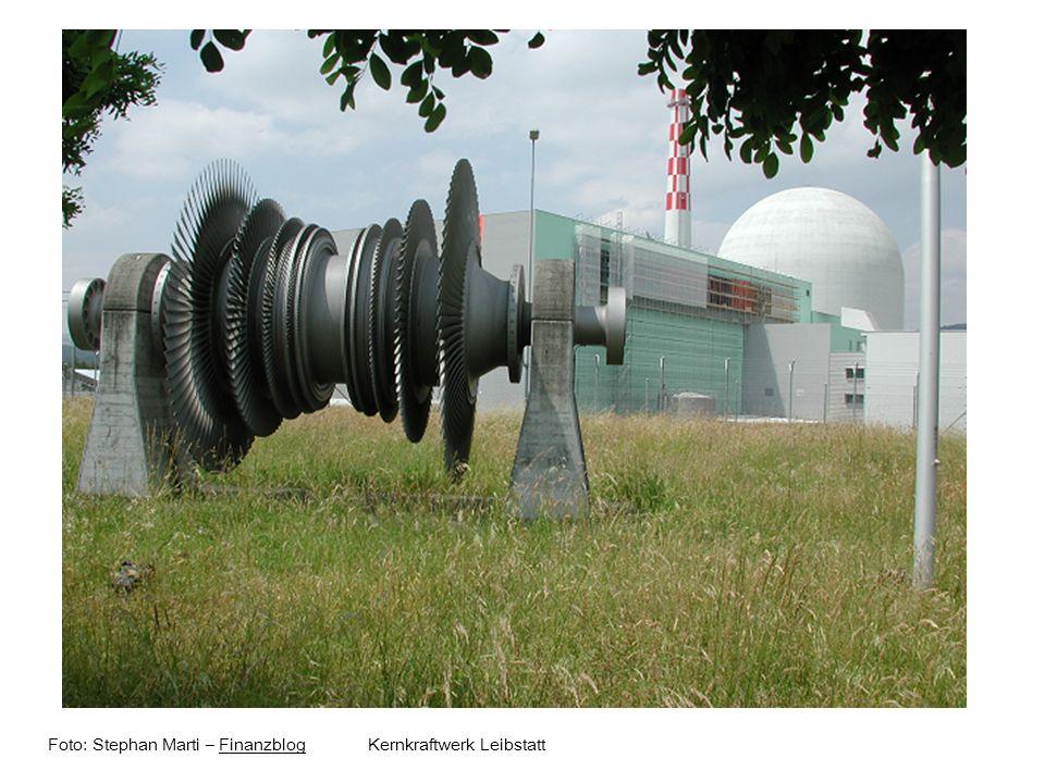 Foto: Stephan Marti – Finanzblog Kernkraftwerk Leibstatt
