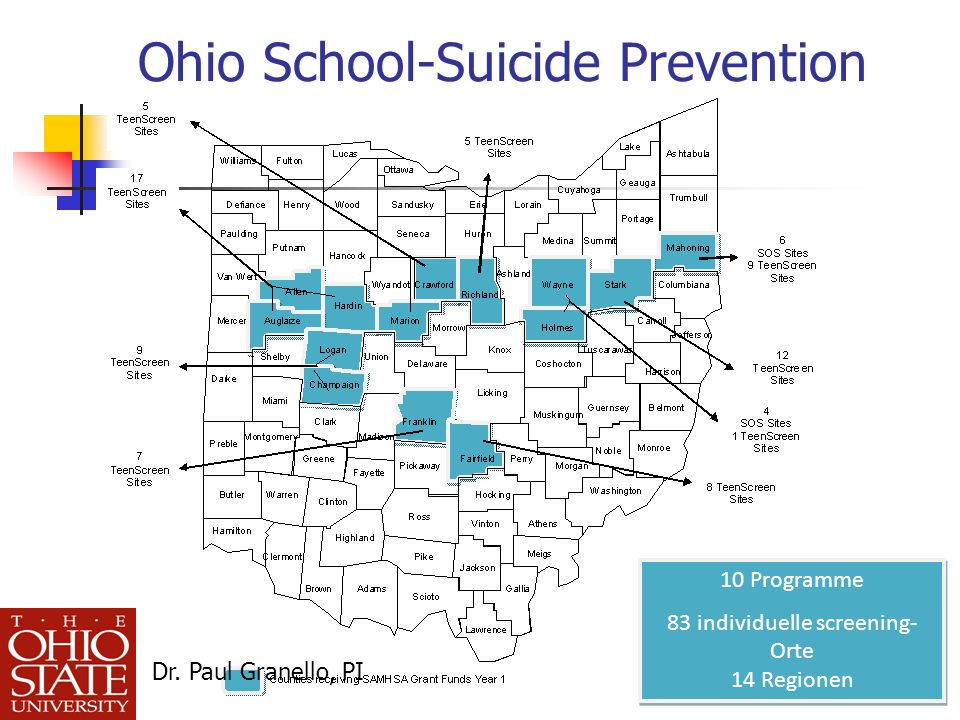 Ohio School-Suicide Prevention