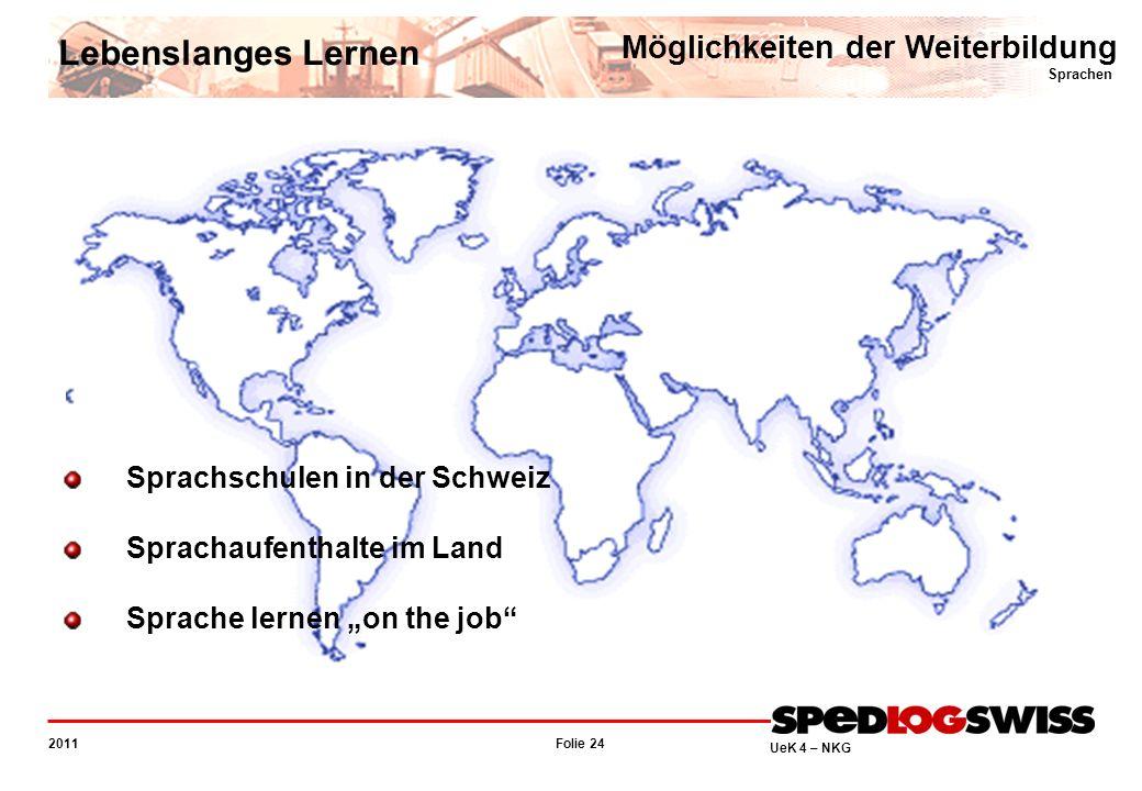 Lebenslanges Lernen Möglichkeiten der Weiterbildung Sprachen