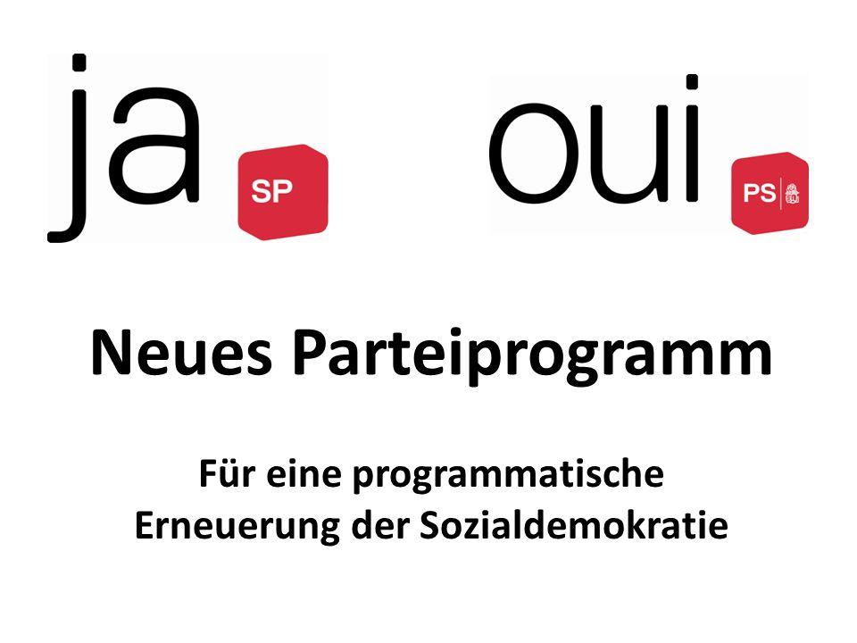 Für eine programmatische Erneuerung der Sozialdemokratie