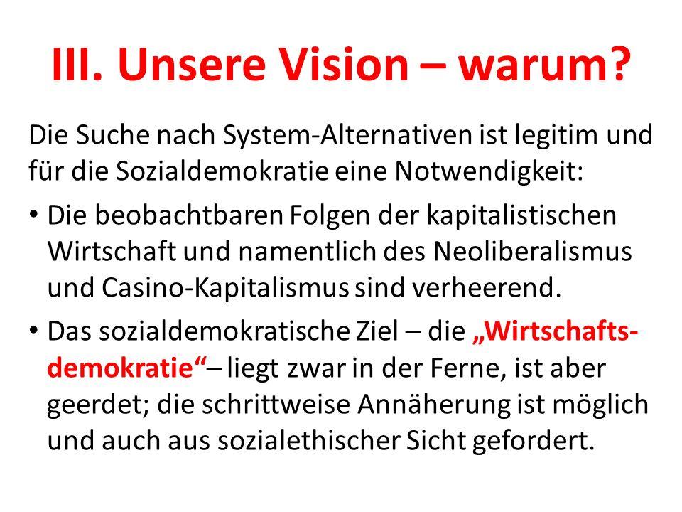 III. Unsere Vision – warum