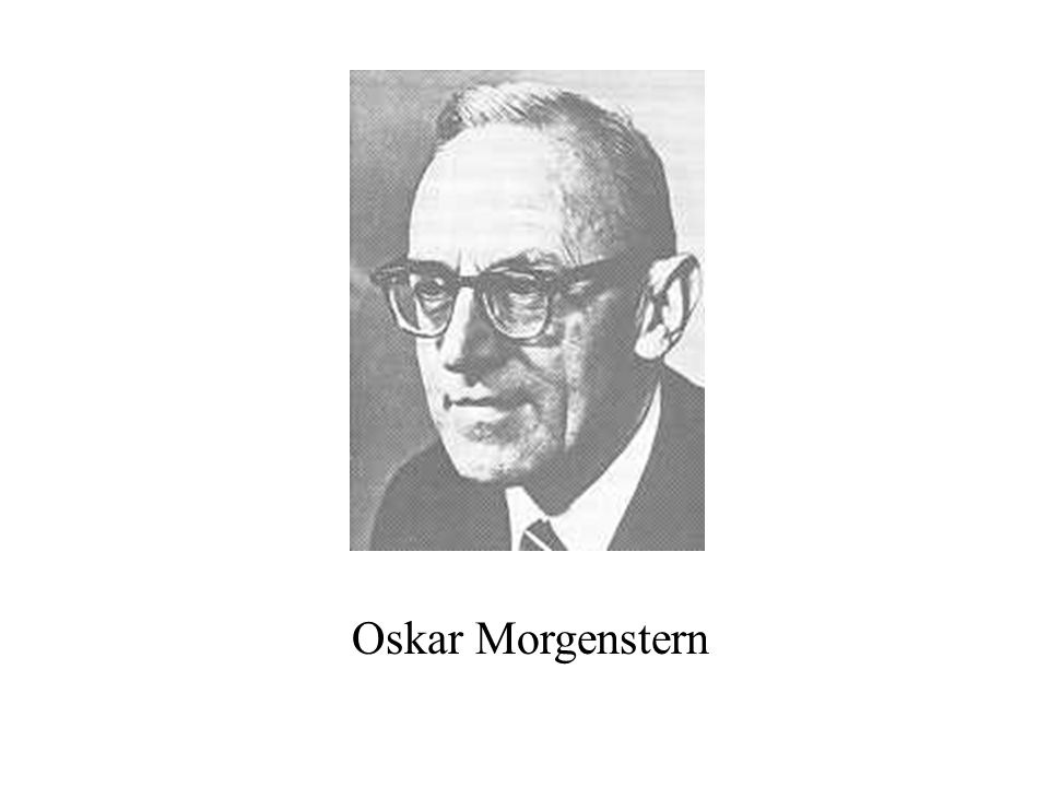 Oskar Morgenstern