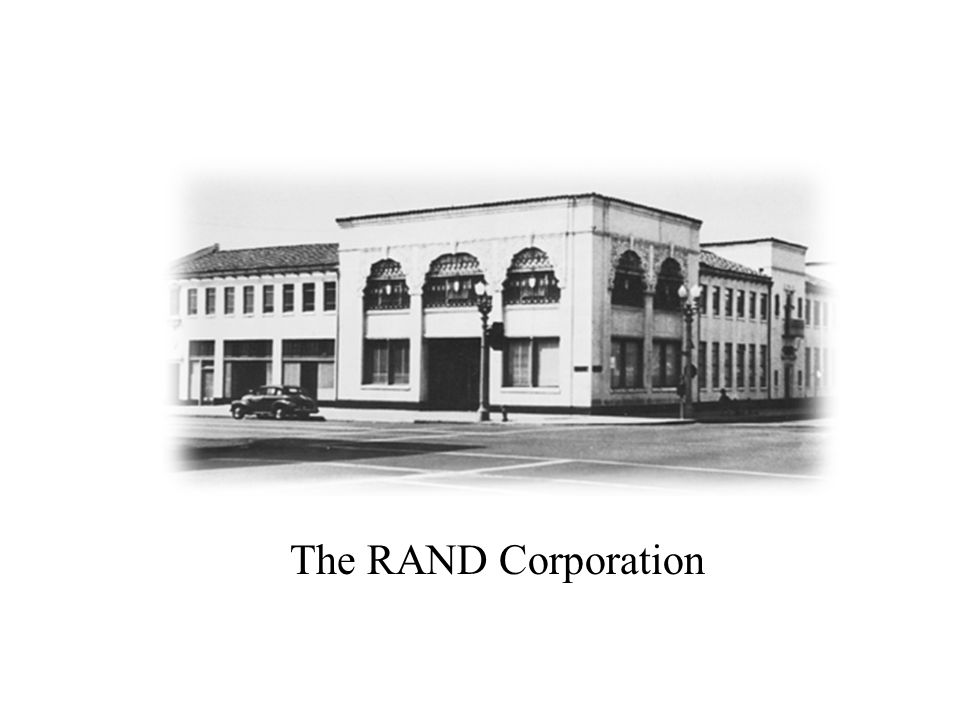 The RAND Corporation