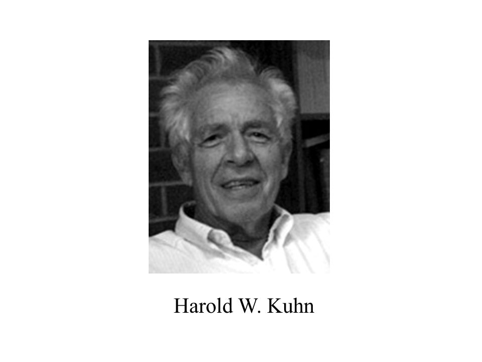 Harold W. Kuhn