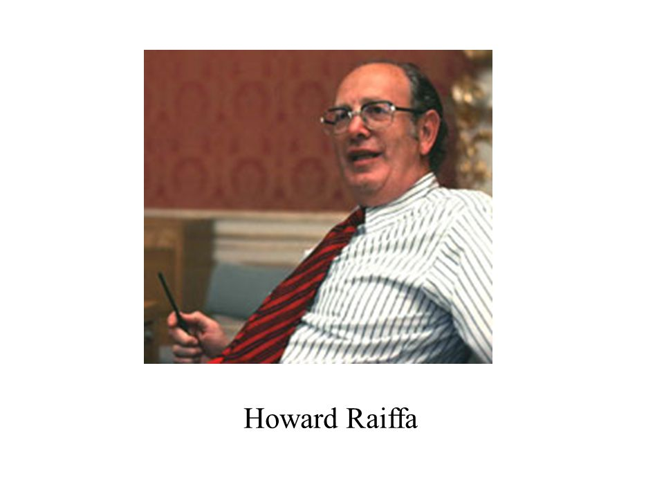 Howard Raiffa