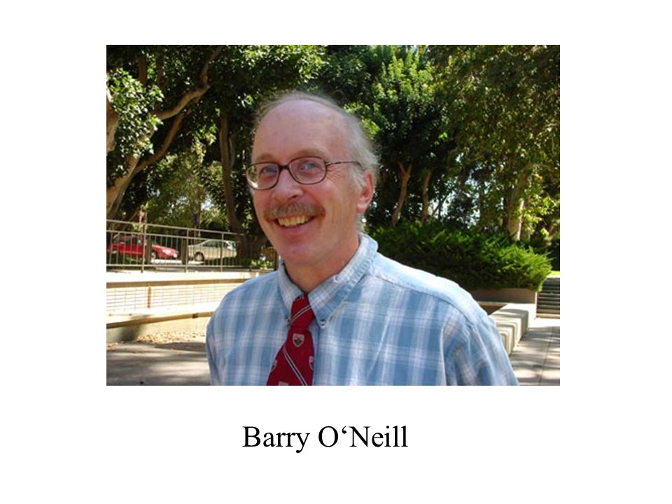 Barry O'Neill