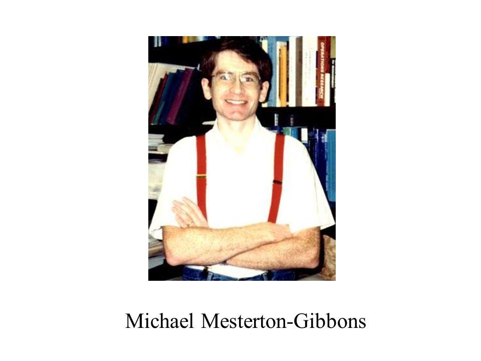 Michael Mesterton-Gibbons