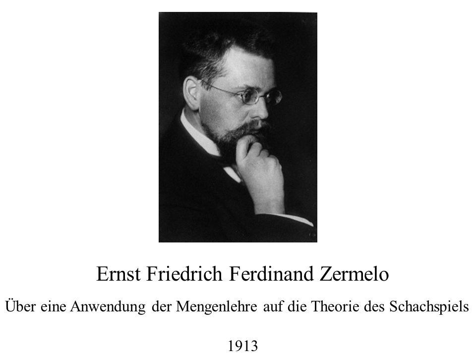 Ernst Friedrich Ferdinand Zermelo