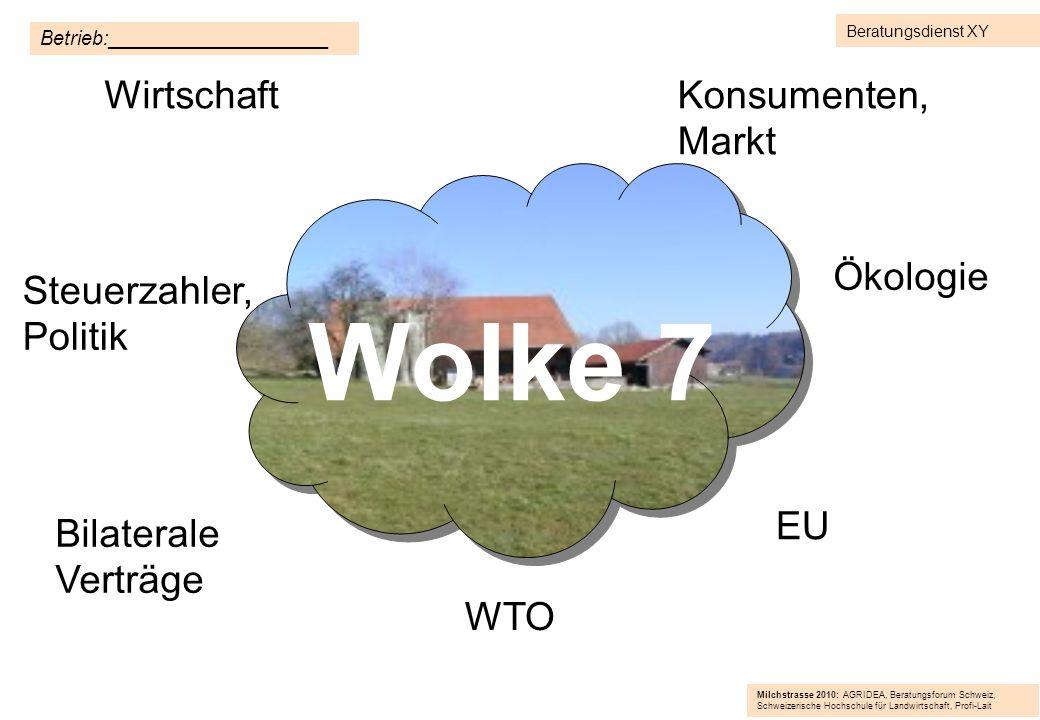 Wolke 7 Wirtschaft Konsumenten, Markt Ökologie Steuerzahler, Politik
