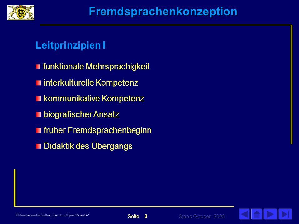 Leitprinzipien I interkulturelle Kompetenz kommunikative Kompetenz