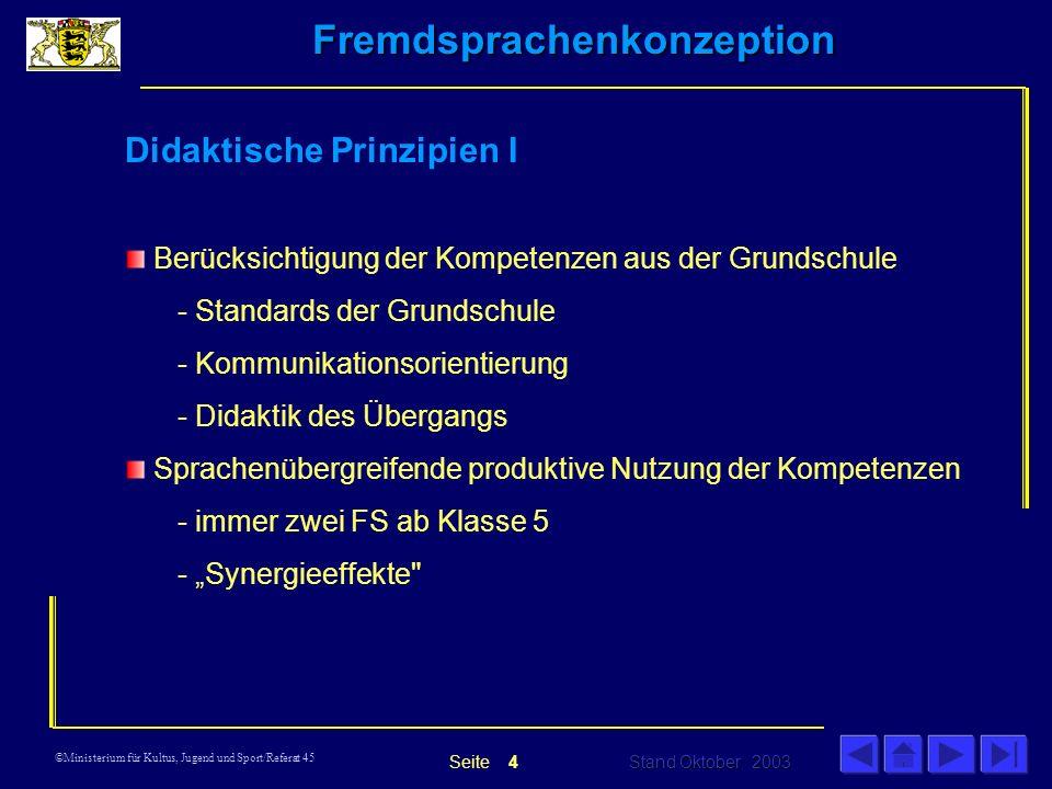 Didaktische Prinzipien I