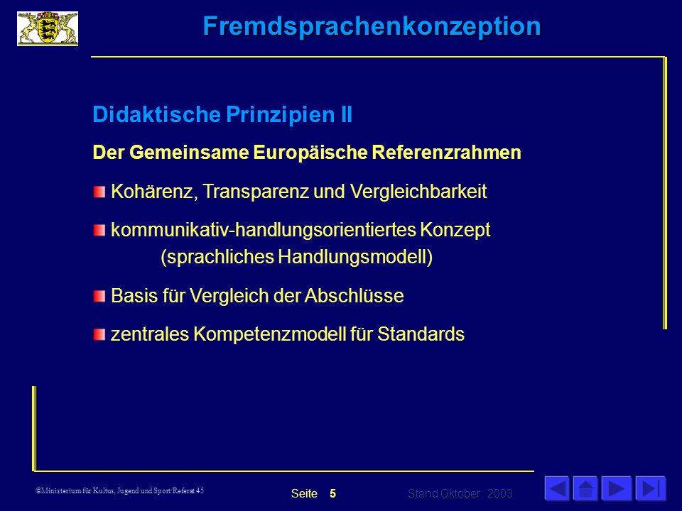 Didaktische Prinzipien II