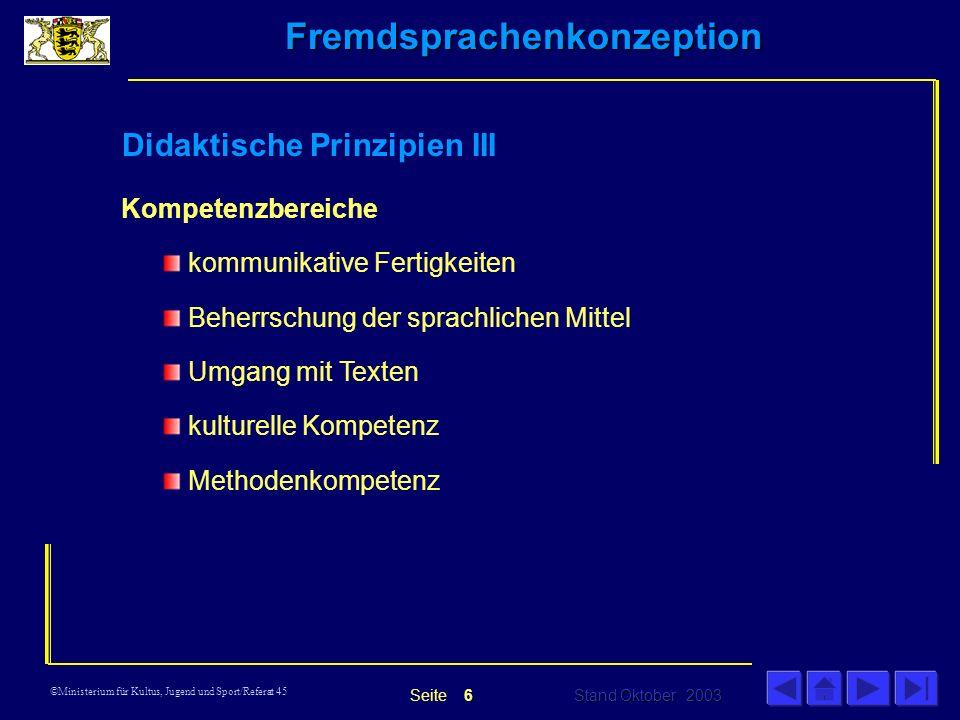 Didaktische Prinzipien III