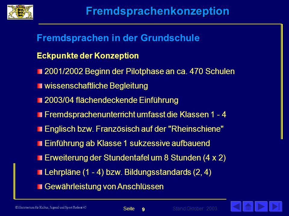 Fremdsprachen in der Grundschule