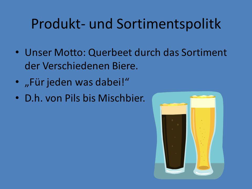Produkt- und Sortimentspolitk