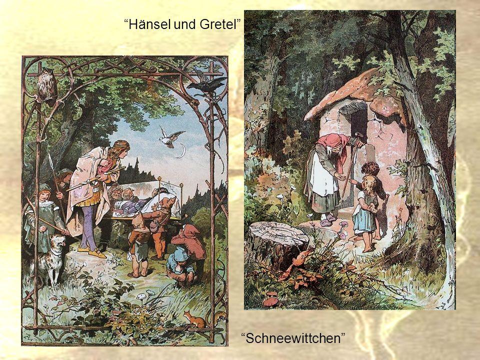 Hänsel und Gretel Schneewittchen