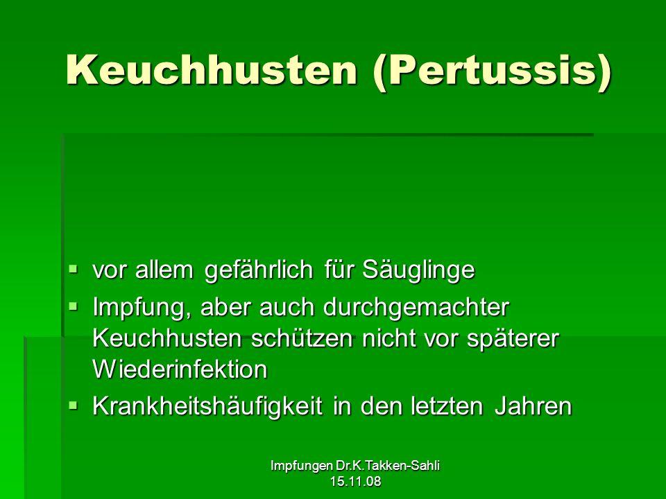 Keuchhusten (Pertussis)