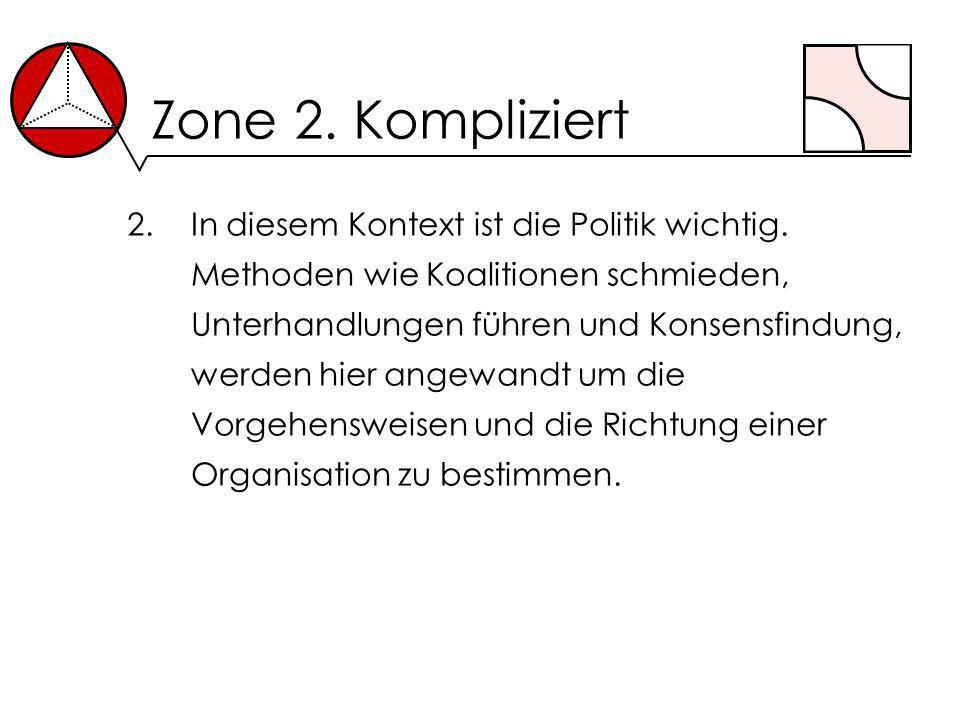 Zone 2. Kompliziert