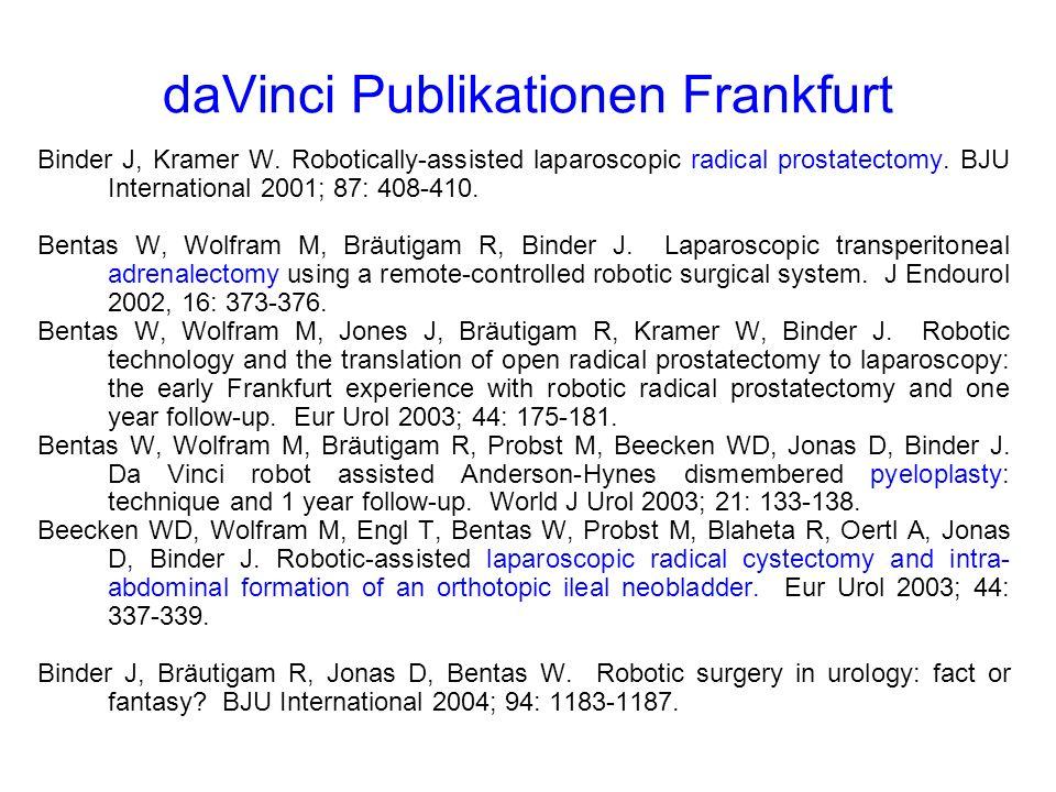 daVinci Publikationen Frankfurt