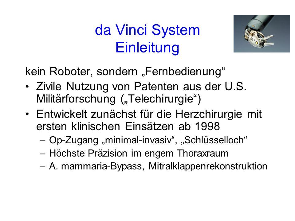 da Vinci System Einleitung