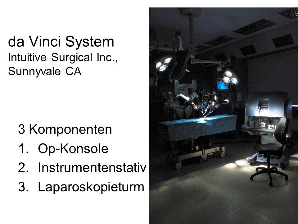da Vinci System Intuitive Surgical Inc., Sunnyvale CA
